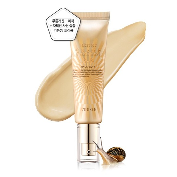 It's Skin Prestige, Creme Descargot BB SPF25 PA++ (Krem BB ze śluzem ślimaka) - 50 ml