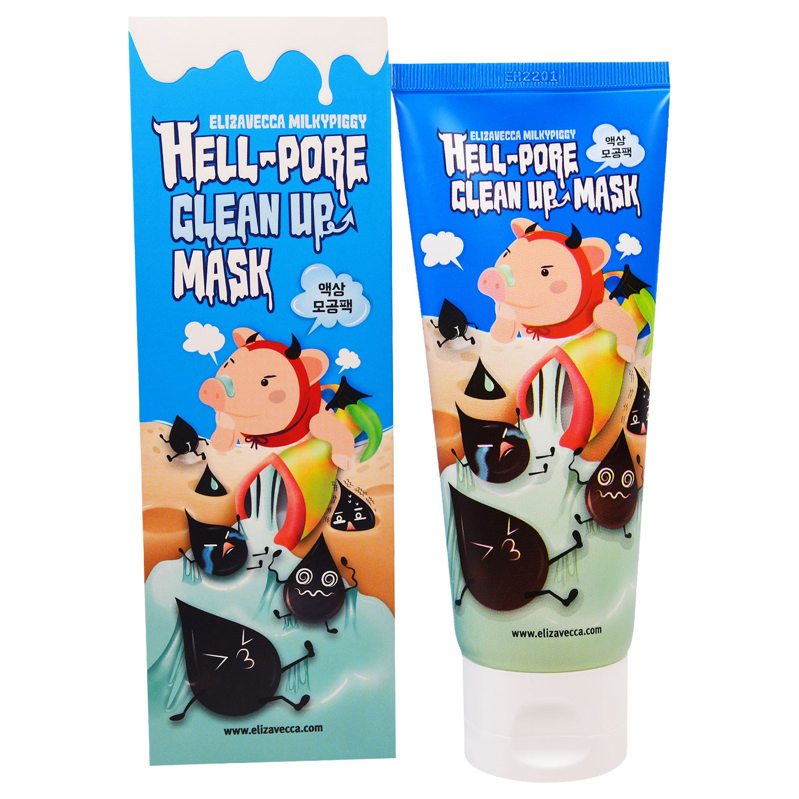 Elizavecca  Hell Pore Clean Up Mask - 100ml