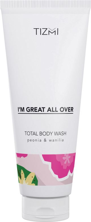 TIZMI Total Body Wash Peonia &Wanilia
