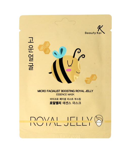 BEAUTY KEI Micro Facialist Boosting Royal Jelly Essence Mask