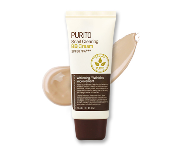 PURITO Snail Clearing BB cream #27 Sand Beige  30 ml