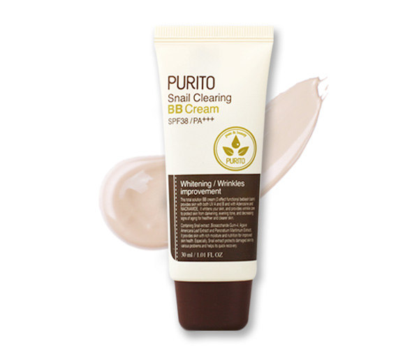 PURITO Snail Clearing BB cream #21 Light Beige  30ml