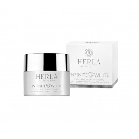 HERLA Infinite White Anti-Aging Day Whitenig Cream SPF15 50ml